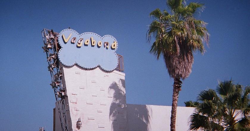 Vagabond Hotel Sign | ©Phillip Pessar/Flickr