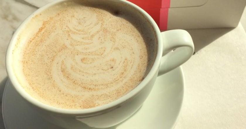 chai latte | © Nanja Ummels