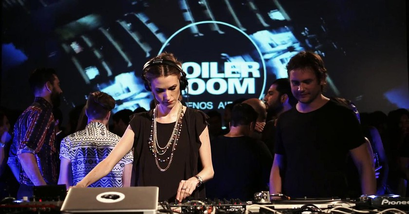 Dfunkclub at Boiler Room Buenos Aires 2014   Courtesy of Boiler Room