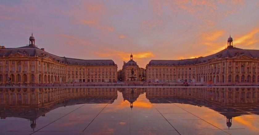 Place de la Bourse Reflection | © Paul Turner/Flickr