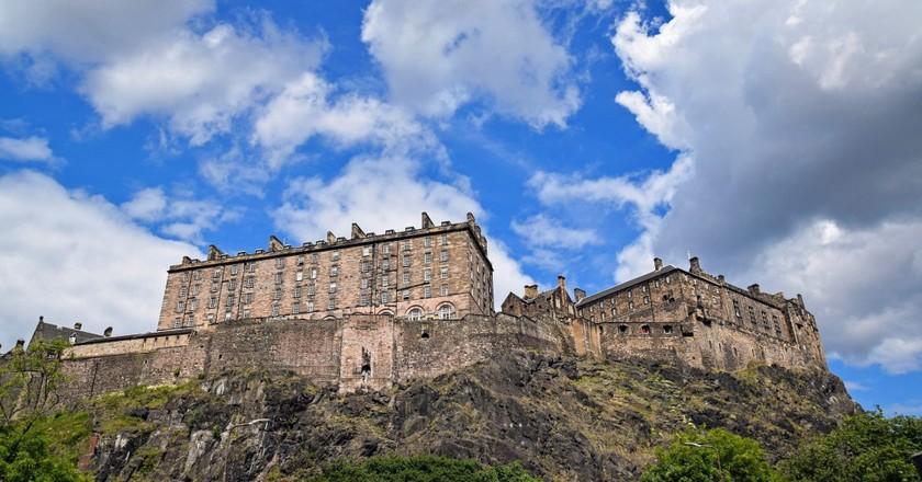 Edinburgh Castle/ ©Pixabay