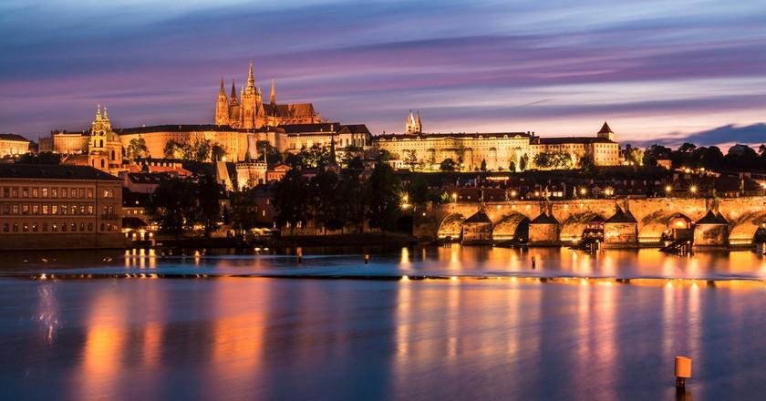Prague at dusk | © Pavel Kinst / Shutterstock