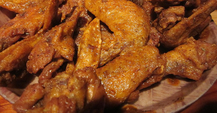 Cajun chicken wings | © BrokenSphere/WikimediaCommons