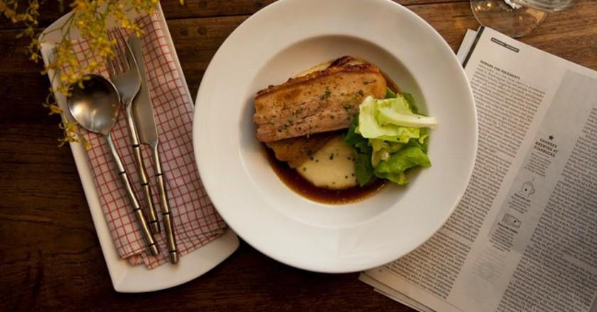 Barbecue pork dish   Courtesy of Nonzero