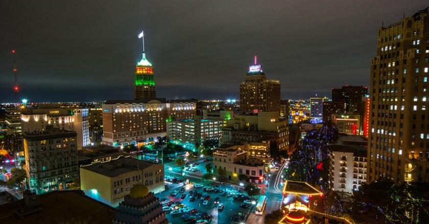 San Antonio Skyline | © Nan Palmero/Flickr