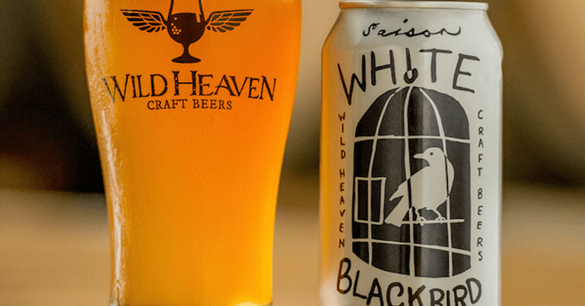 White Blackbird Saison l Courtesy of Wild Heaven Craft Beers