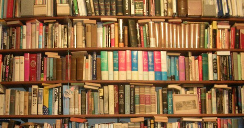 Wall of Books | © benuski/ Flickr