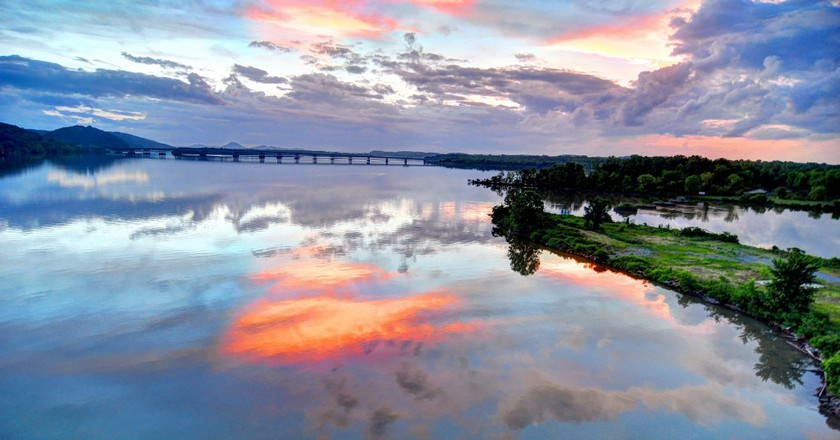 Bridge and sunset © Mike Norton