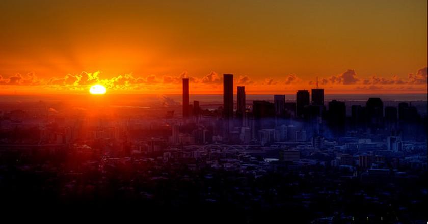 Brisbane sunrise I © Sam Petherbridge/Flickr