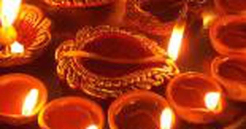 Celebrating Diwali in Guyana
