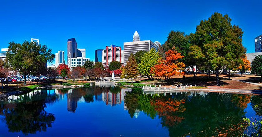 2013 skyline of charlotte north carolina | ©  Digidreamgrafix/Wikicommons