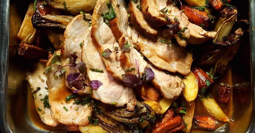 Oven-roasted goodness | Courtesy of Charlotte Café/Cuisine