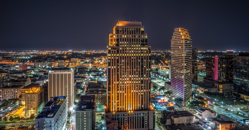 New Orleans from Above | © Antrell Williams