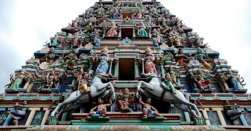Sri Mahamariamman Temple | © Geof Wilson/Flickr