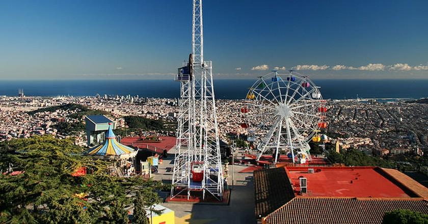 Tibidabo Amusement Park   © Jorge Franganillo