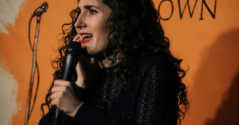 Kate Berlant at the Nerdist Showroom © Katherine Leon