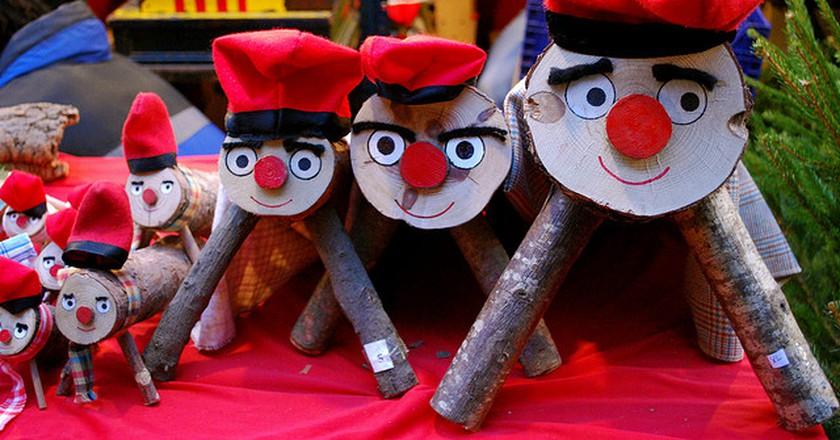 Caga Tió   © Valerie Hinojosa / Flickr