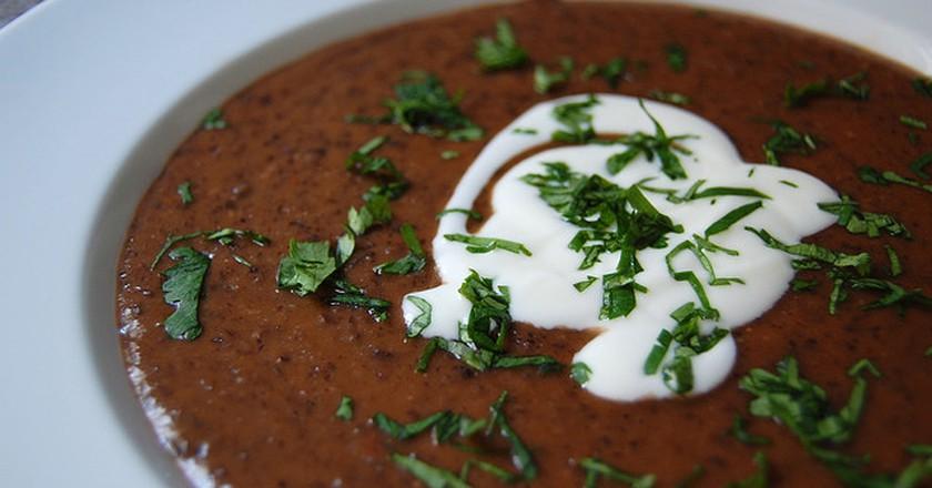 Vegetarian bean soup| © KBR/Flickr