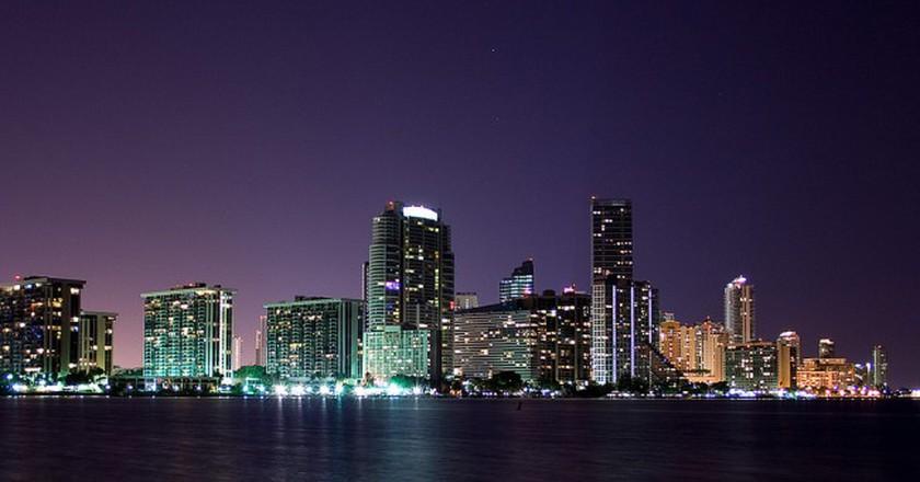 Miami from Key Biscayne | © Daniel Reichert/flickr