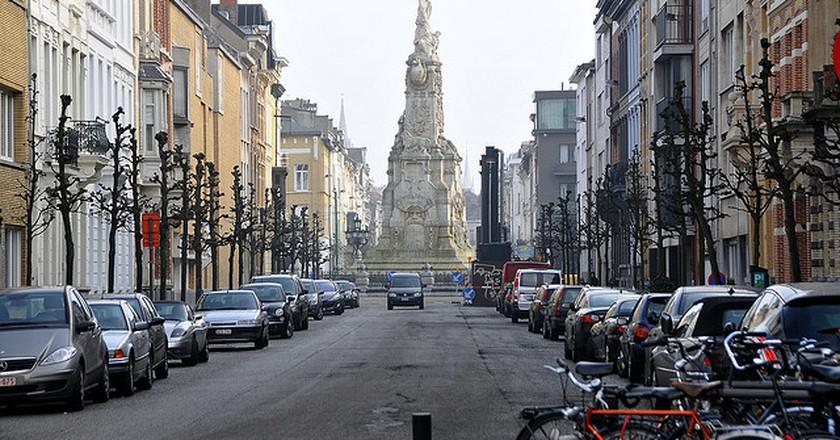 'Vrijmaking der Schelde' Marnixplaats © FaceMePLS/Flickr