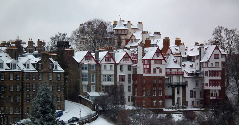 Christmas in Edinburgh   ©Dominic Wade/Flickr
