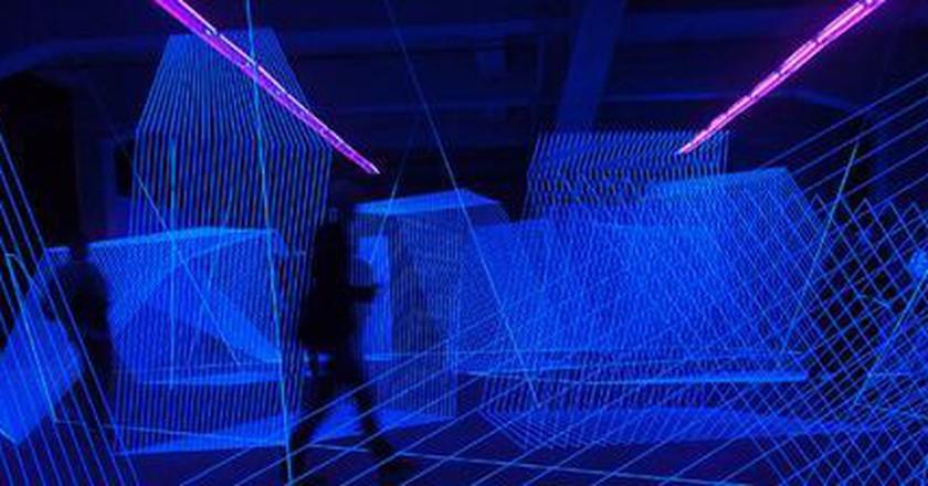 Jeongmoon Choi's Ultra Violet Installations