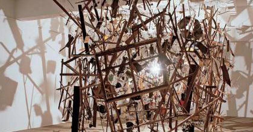 Cornelia Parker's Manipulative Sculptures