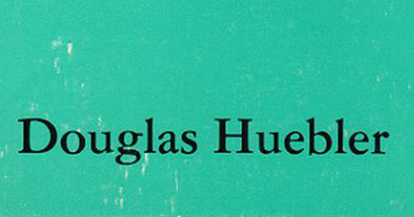 5 Things You Should Know About Douglas Huebler
