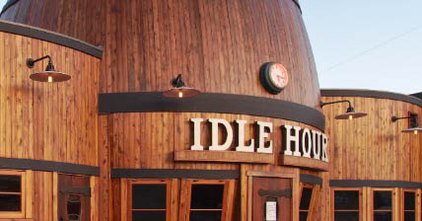 Idle Hour Café, The Rebirth Of California's Famous Barrel Bar
