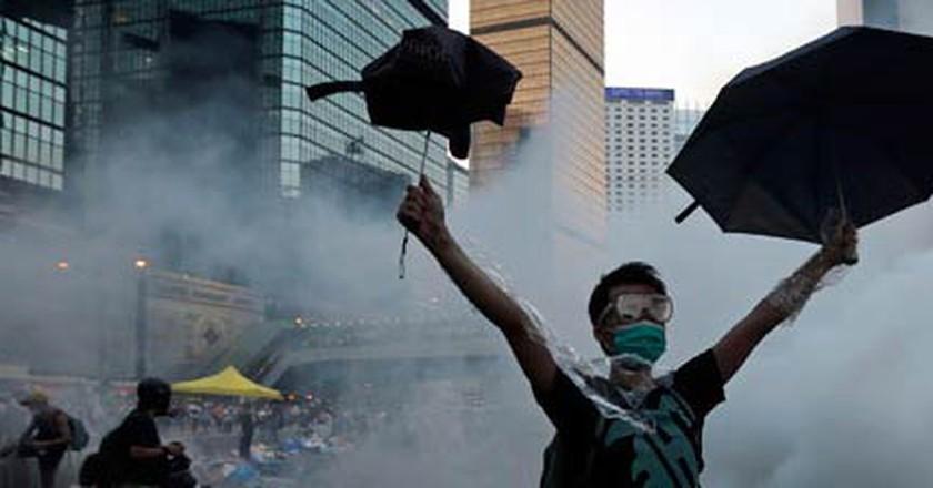 The Art of the HK Umbrella Revolution in a Digital Age