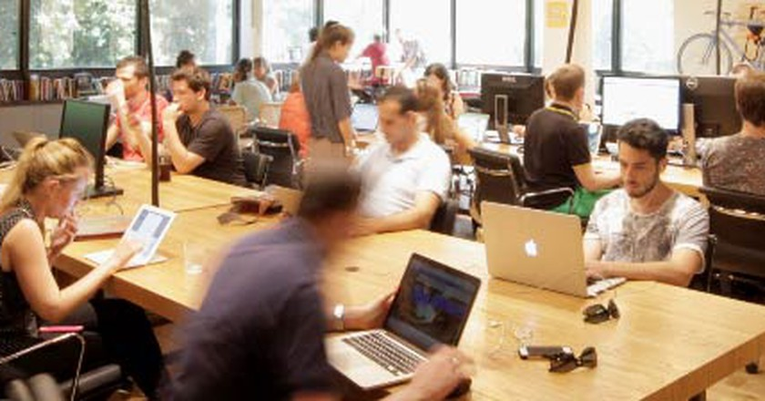 8 Shared Co-Working Spaces In Tel Aviv