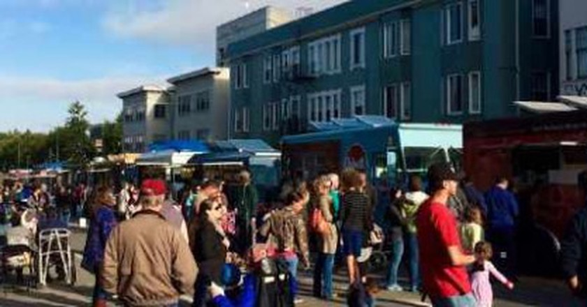 Off The Grid, Foodie Fridays At The Oakland Museum Of California