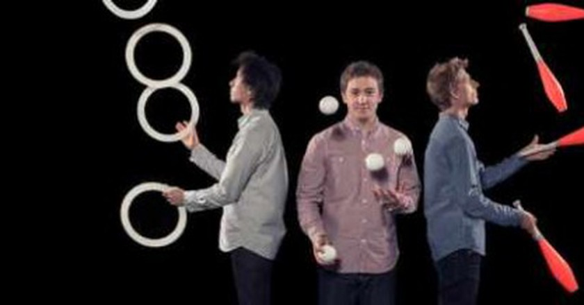 The Circus Geeks | Juggling Through London's Udderbelly