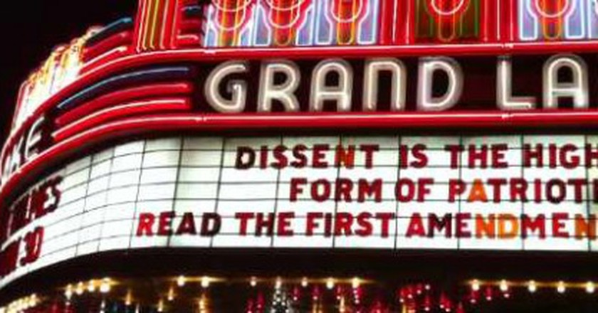 California's Historic Oakland: The Grand Lake Movie Theatre