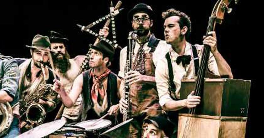 Scotch & Soda: Acrobatic Circus Jazz at London's Udderbelly