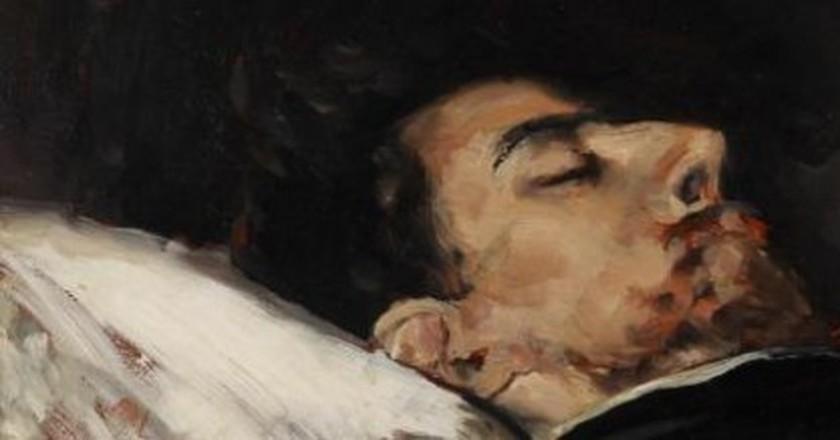 Vicente Palmaroli – Gustavo Adolfo Bécquer on his Death Bed   © Google Cultural Institute/Wikipedia