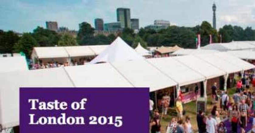 The Highlights of 2015's Taste of London