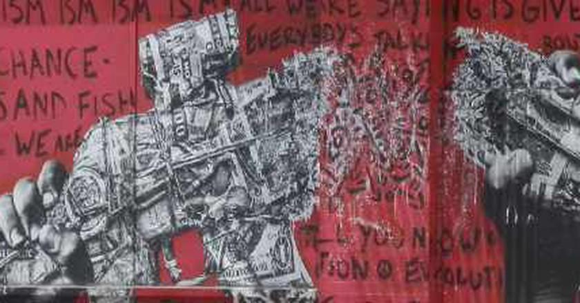Tagging The Concrete Jungle: Top 5 Graffiti Hotspots In L.A.