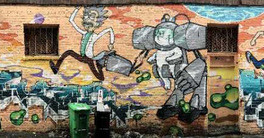 The 5 Nerdiest Murals In San Francisco