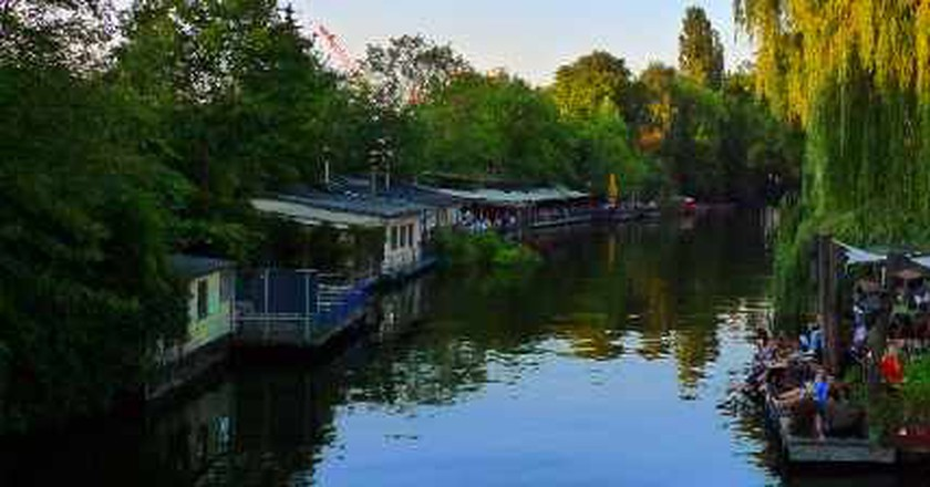 Berlin's Club Der Visionäre: Electronic Music By The River