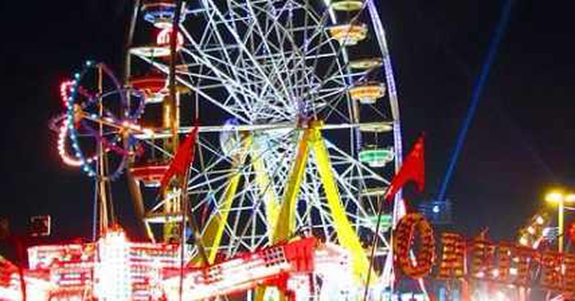 CNE Midway at Night | © Loozrboy/WikiCommons