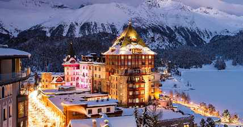 The Best Bars In St Moritz, Switzerland