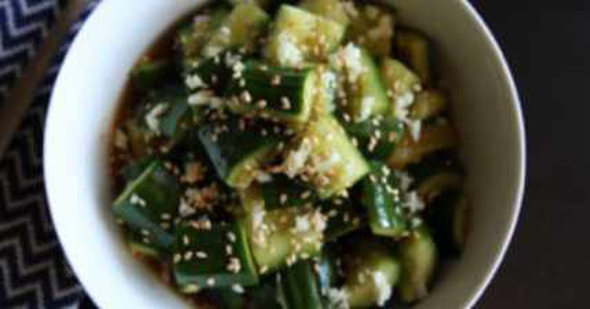 Smashed Cucumber Salad, The Newest NYC Culinary Trend