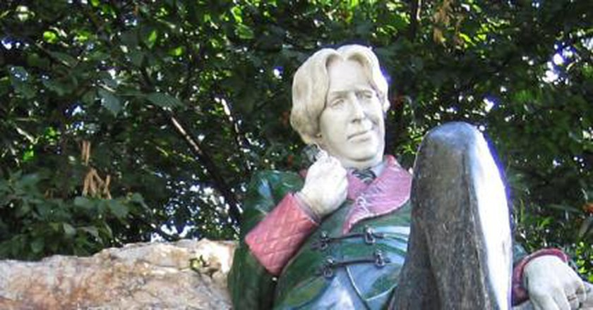 The Oscar Wilde statue in Dublin | © William Murphy/Flickr