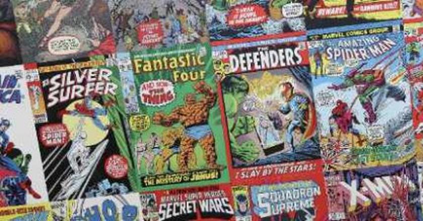 Houston's Top Comic Book Stores