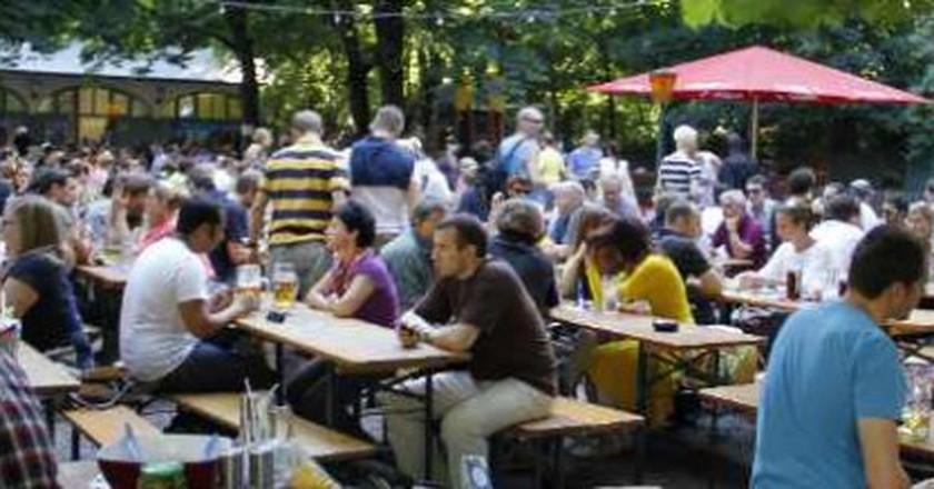 Best Beer Gardens In Manchester, UK