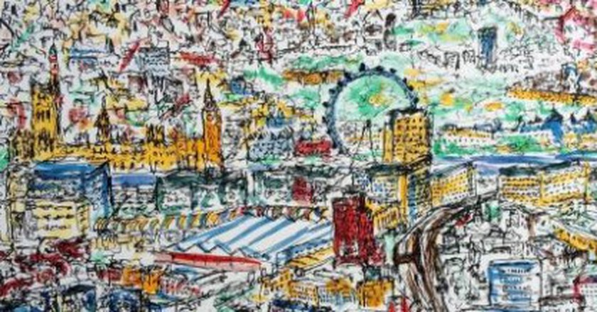 'Perfection Is A Myth': The Instagrammer Who Captures London In Scribbles
