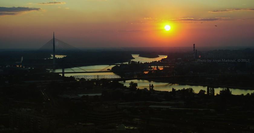 Belgrade Sundown   © Jovan Markovic/Flikr