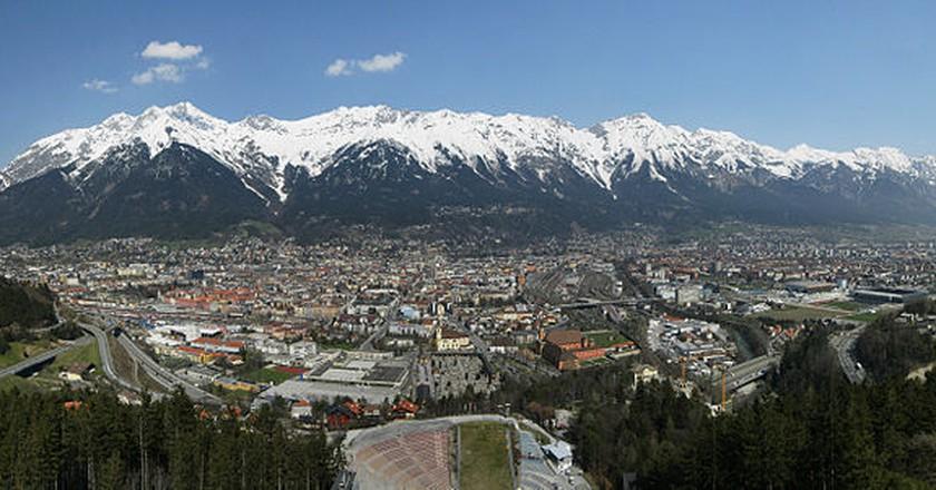 Views of Innsbruck| ©Bohringer Friedrich/ Wikicommons