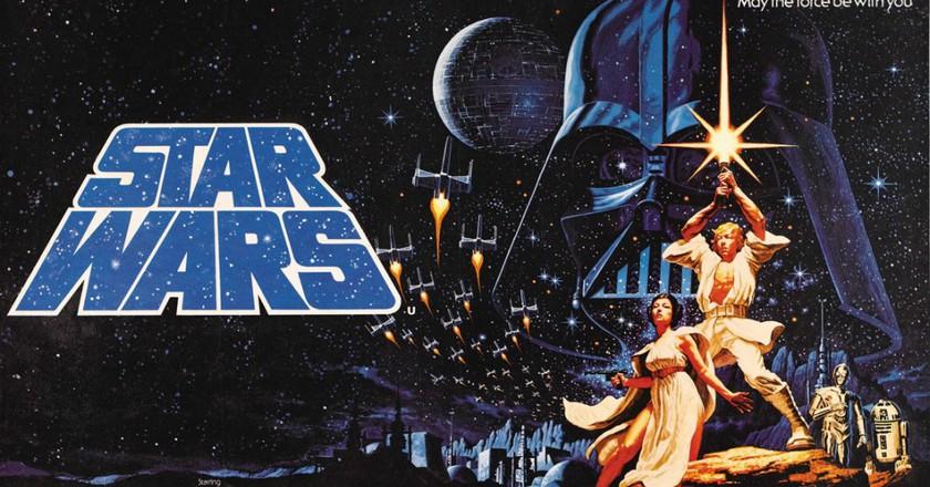 Star Wars poster (1977) | © Thomas S. / Flickr